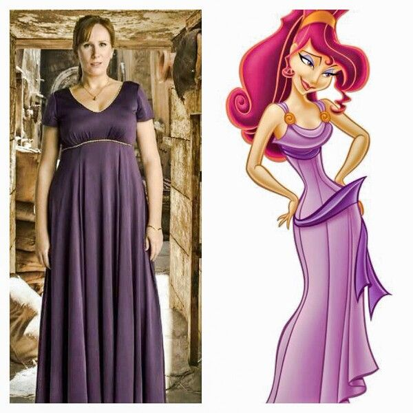 Donna is secretly Meg from Hercules!