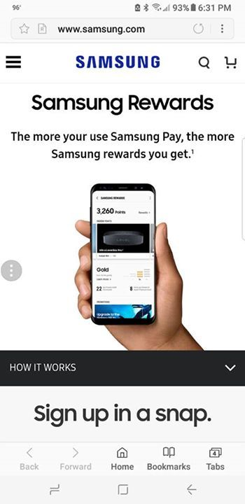 You may want to correct the grammatical error on your Samsung pay promotions page #fashion #style #stylish #love #me #cute #photooftheday #nails #hair #beauty #beautiful #design #model #dress #shoes #heels #styles #outfit #purse #jewelry #shopping #glam #cheerfriends #bestfriends #cheer #friends #indianapolis #cheerleader #allstarcheer #cheercomp  #sale #shop #onlineshopping #dance #cheers #cheerislife #beautyproducts #hairgoals #pink #hotpink #sparkle #heart #hairspray #hairstyles…