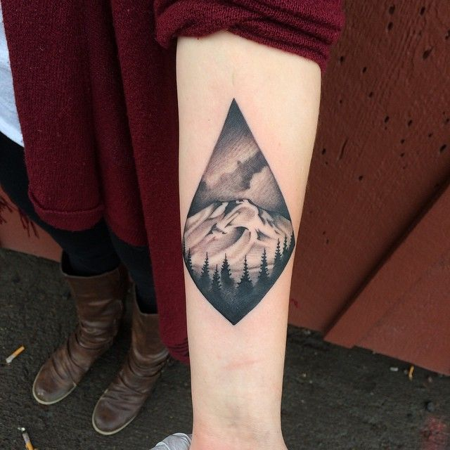 Tattoo Designs Mountains: 522 Best Mountain Tattoo Images On Pinterest