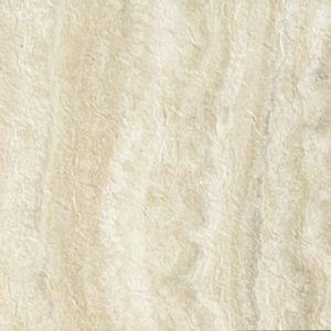 """Tarkett Premiere GroutLess Tile Onyx Travertine Cream Champagne Celebrations- 12""""x12"""" Vinyl floors, bathroom floors, laundry room floor, utility room, basement floors, flooring ideas, lake house, beach house, vinyl tile, stone look floors, waterproof floors, dog friendly, kid friendly, cream tile, light tile, white tile"""