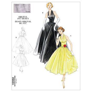 Mccall Pattern V2962 Dd (12-14--Vogue Pattern