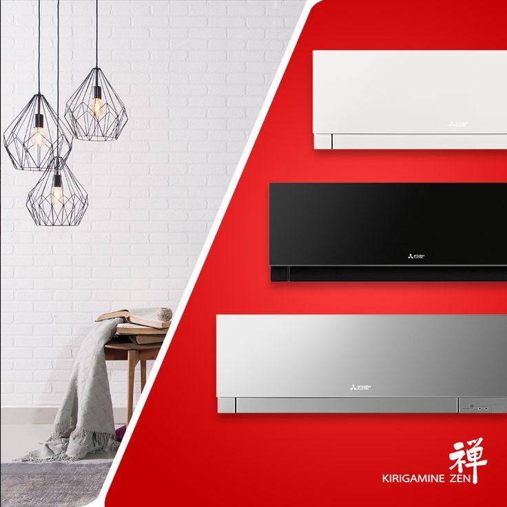 Siyah, beyaz ve gümüş renk seçeneklerine sahip #KirigamineZen serisi yaşam alanlarınıza maksimum uyum sağlar. ►https://klima.mitsubishielectric.com.tr/ #stylish #stil #mitsubishielectric #klima #warm #sıcak #style #tasarım #beautiful #dekorasyon #decoration #MitsubishiElectricKlima #design #teknoloji #tech #ev #home #house #room #MitsubishiElectricKlima #dizayn #tasarım #gümüş #silver #black #siyah #beyaz #white