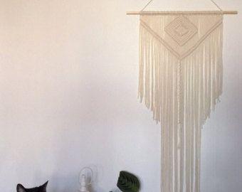 Handmade Macrame Wall Hanging Wall Decor Boho Chic Wall Art