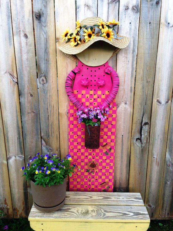 Ironing board lady Craft ideas Pinterest Ironing