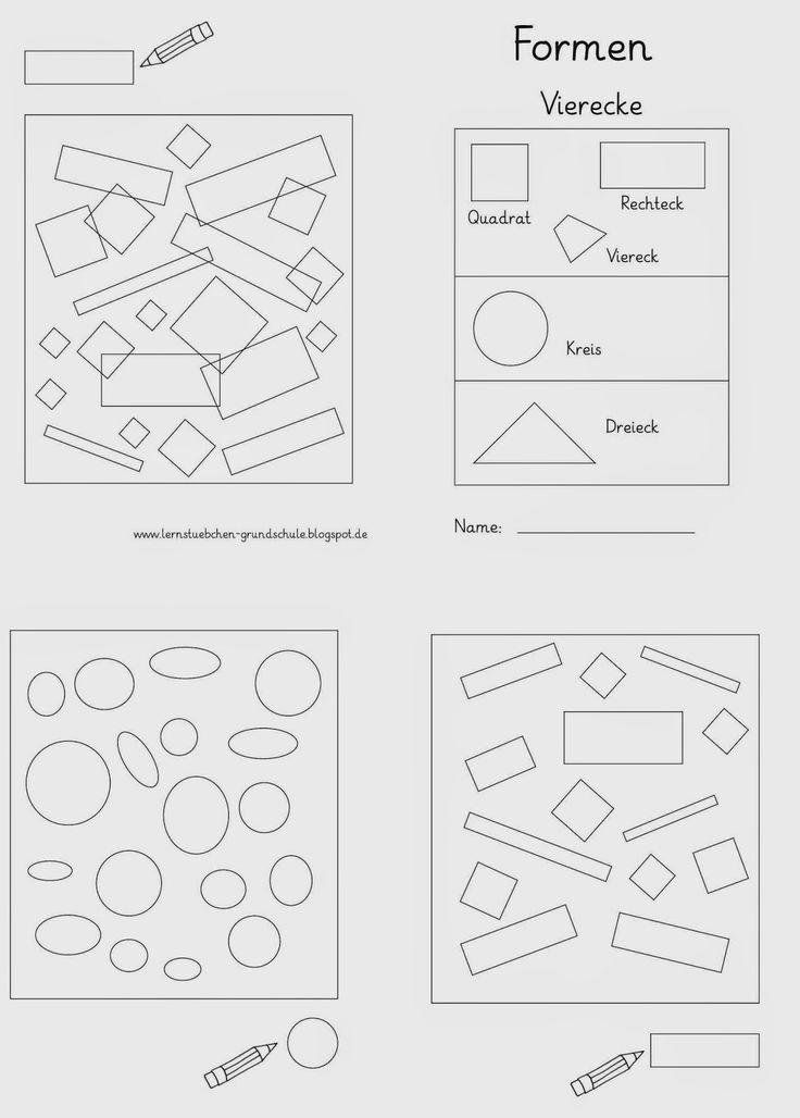 Lernstübchen: Formen erkennen