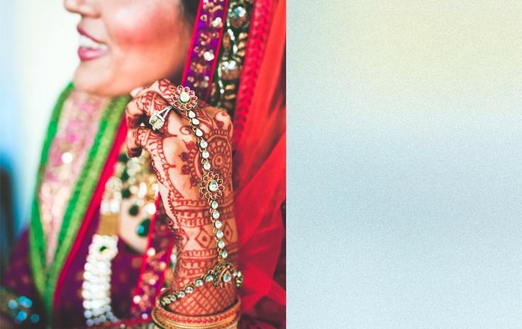Rimi+Surjeet magenta and green