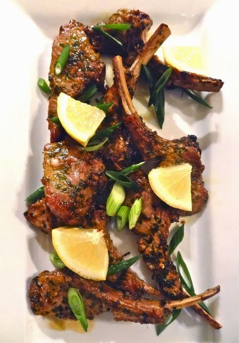 Asian Marinated Rack of Lamb Chops ~ complete recipe and tutorial