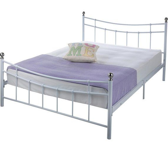 Buy HOME Darla Double Bed Frame - White at Argos.co.uk. Keeping the white bed frame I have which is similar to this