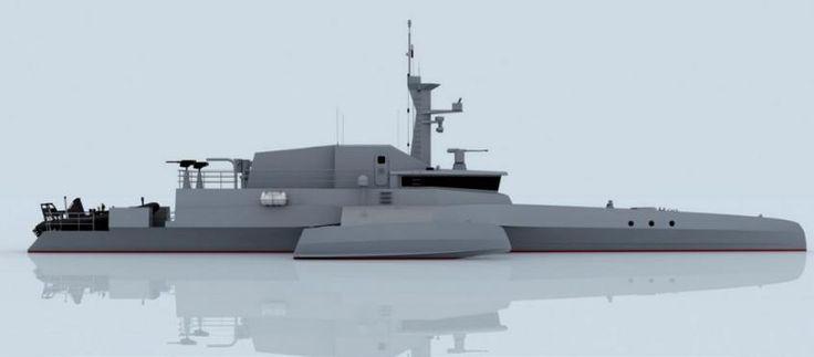 CMN : Le patrouilleur Ocean Eagle en version guerre des mines   Mer et Marine