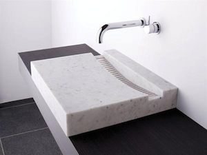 stone sink flat sink bathroom renovations sydney bathroom renovations melbourne bathroom renovations