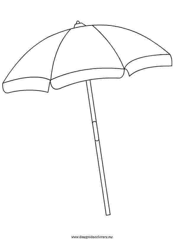 Umbrella Art Preschool Umbrella Art Umbrella Coloring Page Beach Umbrella Beach Coloring Pages