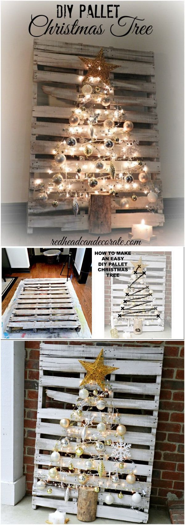 Best 25+ Pallet projects christmas ideas on Pinterest