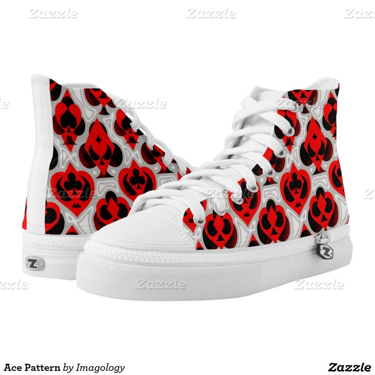 Ace Pattern Printed Shoes