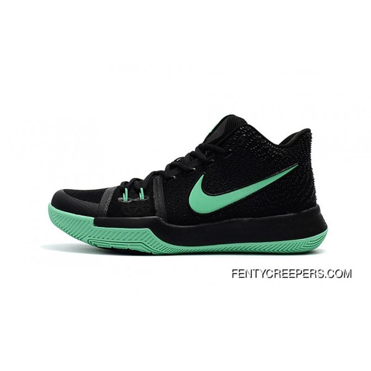 Girls Nike Kyrie 3 Black Grass Green Top Deals