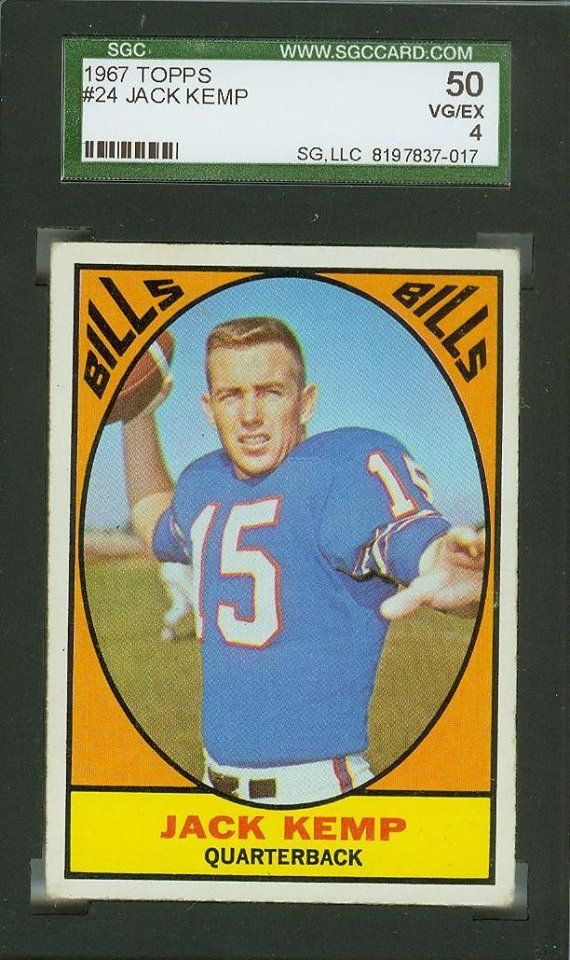 fc91ce03d ... coupon for jersey 1967 topps jack kemp buffalo bills 24 football card  vgex http 6c3c9 06eb1