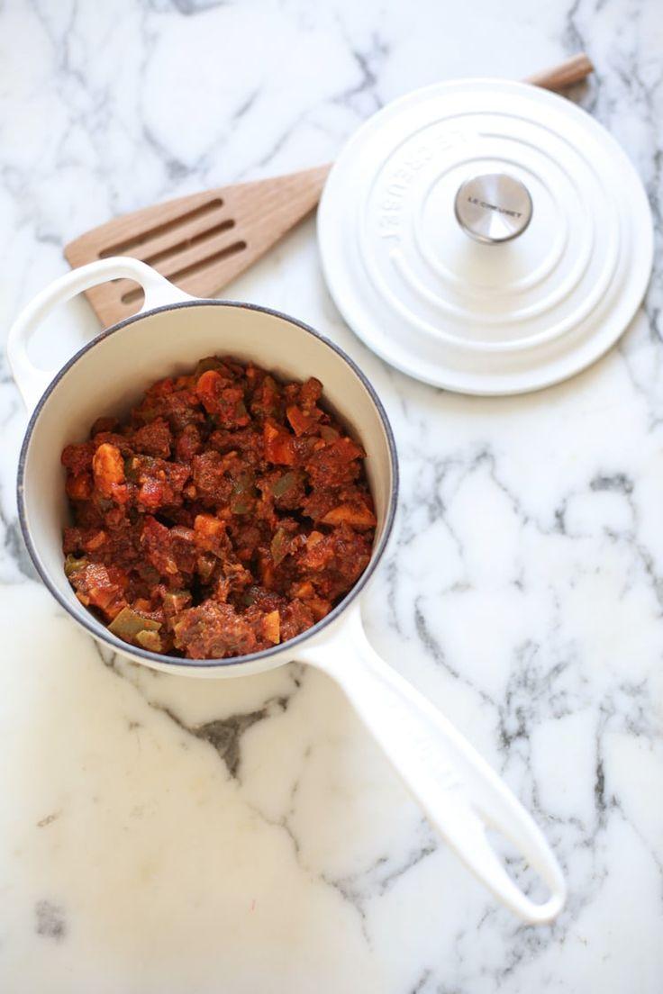 Sweet Potato Chili from Danielle-Moss.com