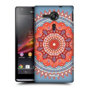 Amazon.com: Head Case Tangerine Circus Mandala Hard Back Case Cover For Sony Xperia Sp C5303: Cell Phones & Accessories