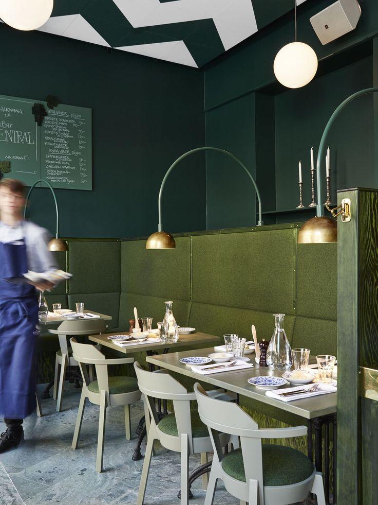 Bar central de Stockholm | MilK decoration