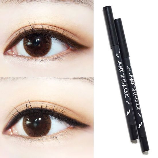 ABBAMART Belleme Classic Basic Pencil Eye Liner Black Brown 1SET Pearless Korea  #ABBAMARTKBeauty