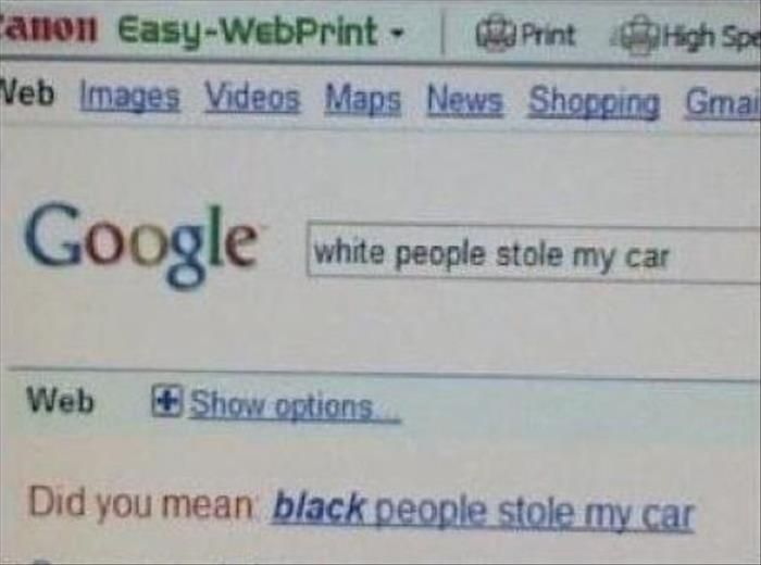 Accidental Racism Examples