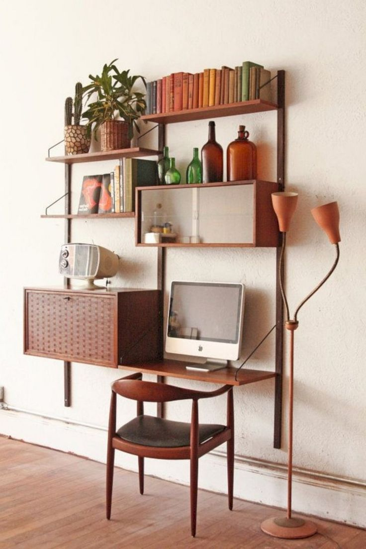 27+ Smart Mid Century Modern Bookcases Ideas Youll Love