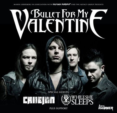 Bullet For My Valentine - Tour 2014 - Leipzig / Werk 2