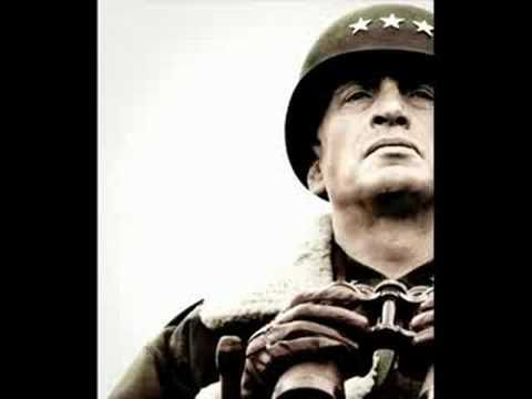 I salute you, Jerry Goldsmith for one of many amazing scores like this. Patton.