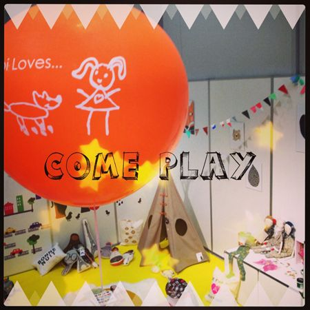 Precious Room kids playroom by Abi Loves for Playtime Tokyo  August 2013