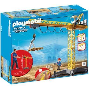 PLAYMOBIL City Action grote hijskraan met IR-afstandsbediening 5466