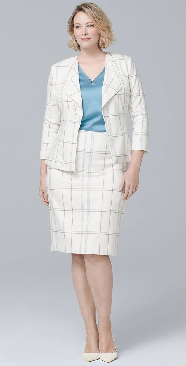 0c9be153a09 Plus Size Professional Work Outfit  plussize