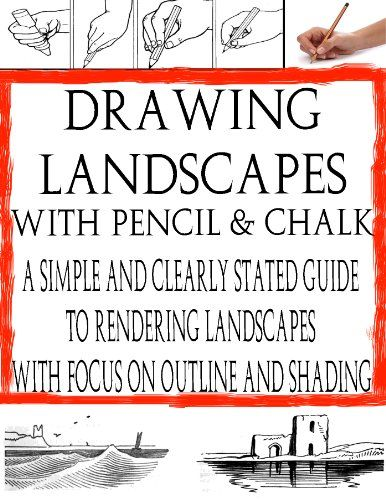 How to Draw Landscape with Pencil & Chalk | | How to Learn Drawing | Drawing in Pencil (The Secrets of Drawing)