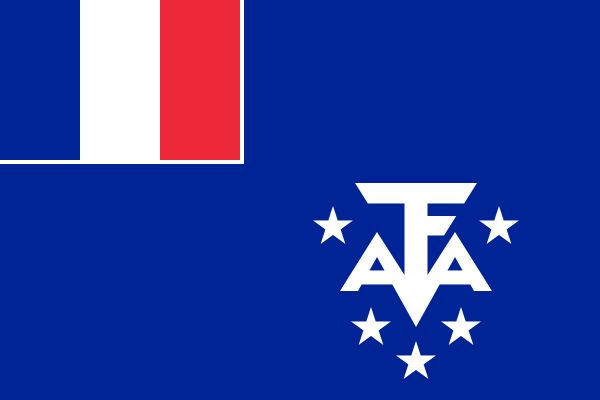 Flag of the French Southern and Antarctic Lands
