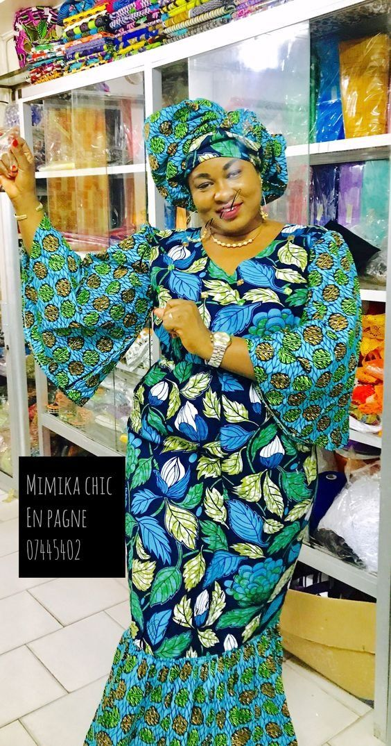 African print, Ankara Dress styles to rock in 2019