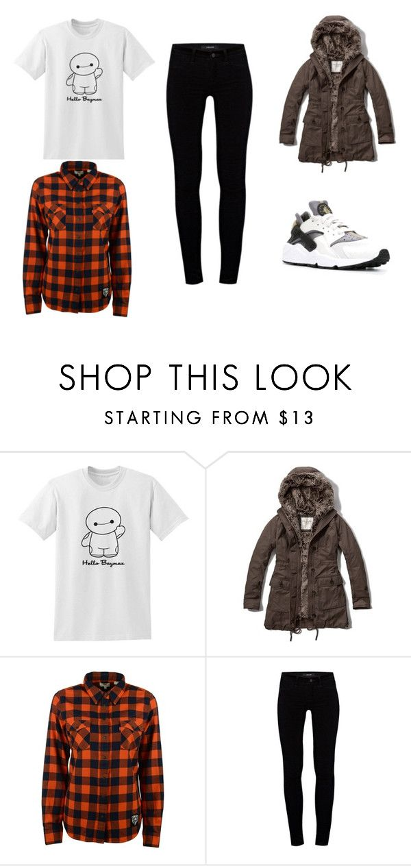 Cold by clarairawan on Polyvore featuring Levi's, Abercrombie & Fitch, J Brand and NIKE