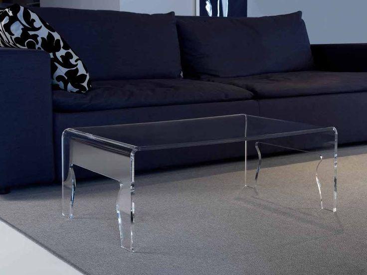 Tavolino da salotto in plexiglass Naif