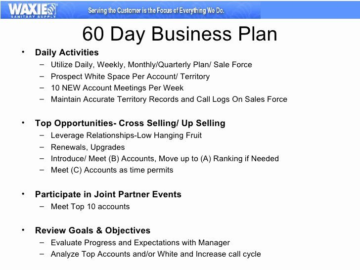 Build A 30 60 90 Day Plan 90 Day Plan Marketing Plan Sample