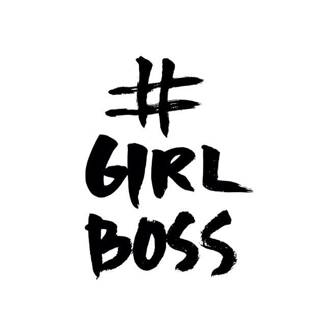 #GIRLBOSS by @Penhearts paper