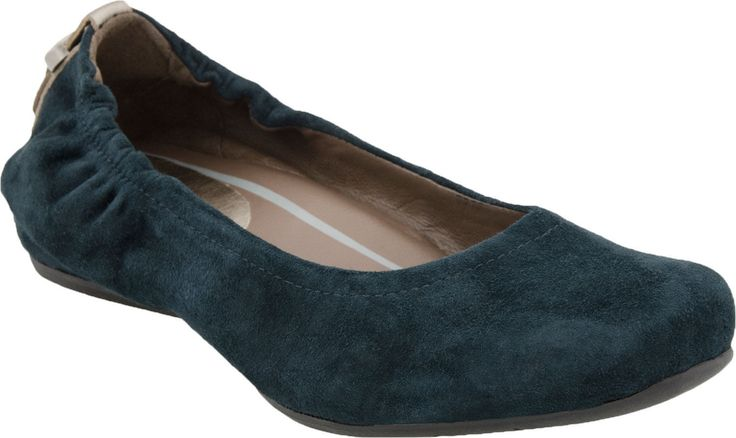 Earth Earthies Tolo Women's Ballerina Flat Shoes Forest Green Size 6-11 (M)