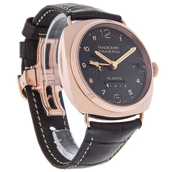 Panerai Radiomi 10 Day GMT Mens 18K Rose Gold Swiss Automatic Watch - http://menswomenswatches.com/panerai-radiomi-10-day-gmt-mens-18k-rose-gold-swiss-automatic-watch-2/ COMMENT.