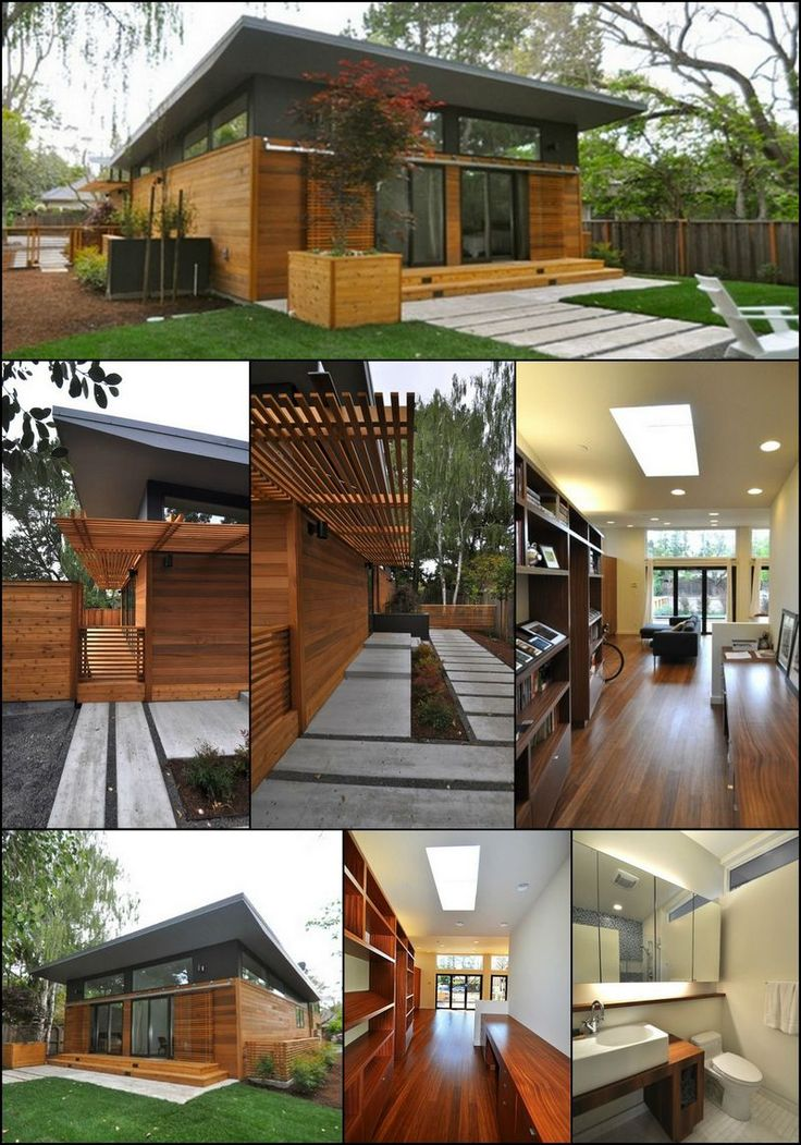 When most of us think of pre-fabricated housing, images of low quality trailer homes spring to mind.  But in recent years, a combination of new technologies, better designs, experimentation and rising construction costs have seen a renaissance in factory built housing.  This home is a perfect example.  Can you see the advantages of prefab in your situation?