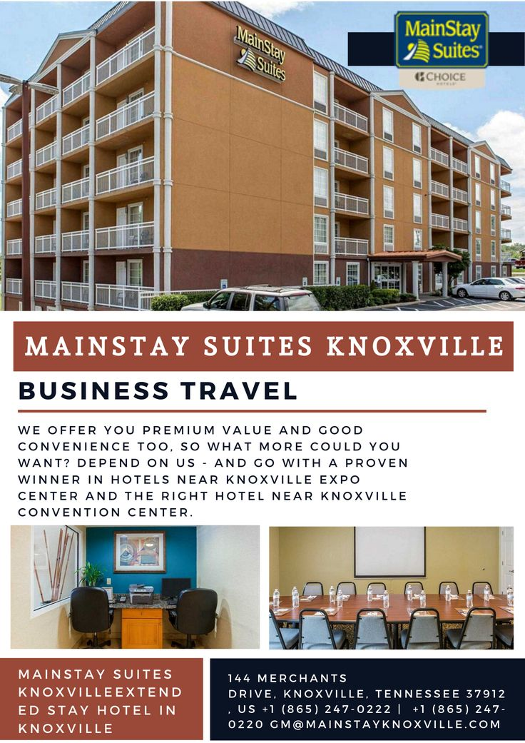 Pin On Mainstay Suites Hotel Knoxville