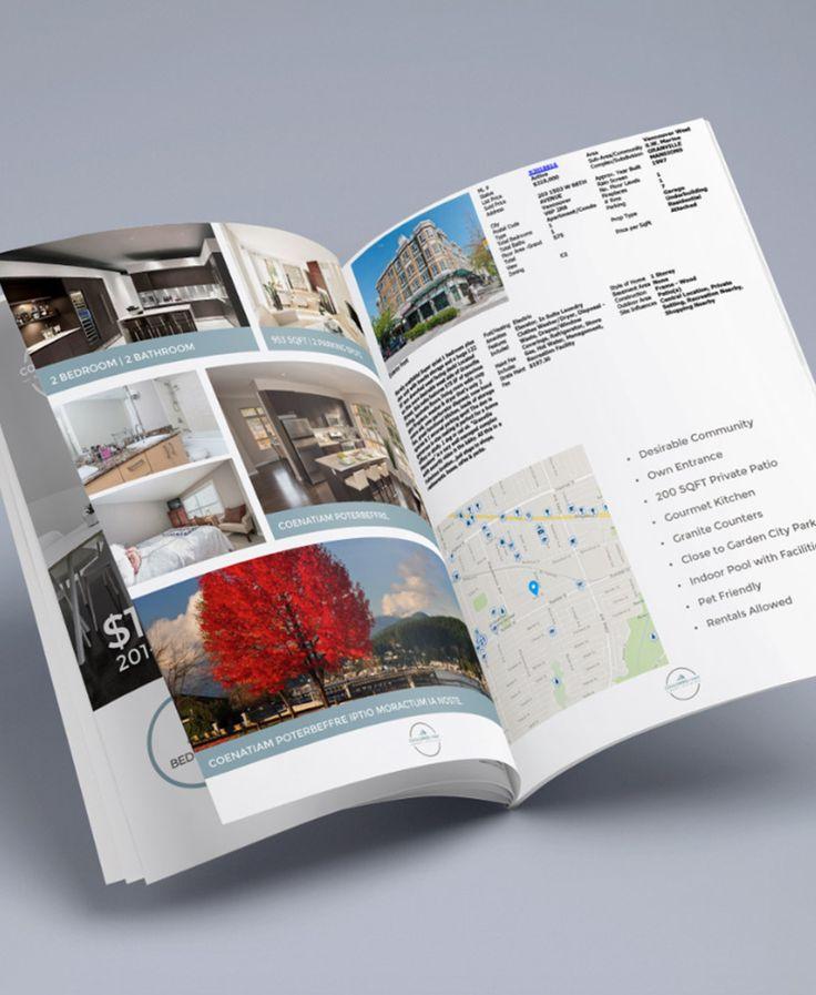 Best Real Estate Brochures Images On   Brochures
