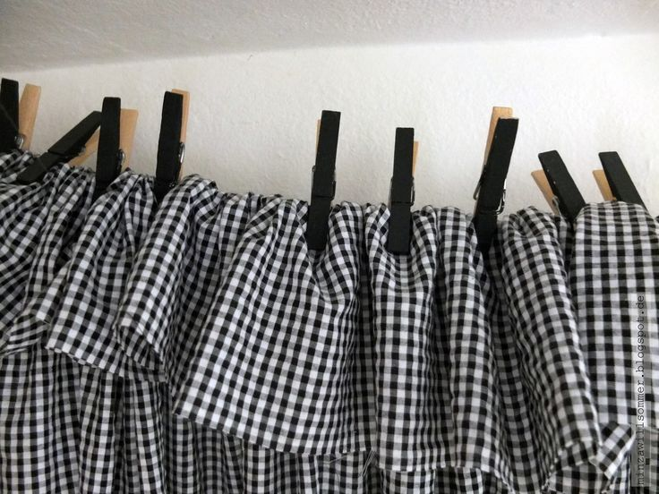 wascheklammer gl cksstoff i gardine ohne n hen und. Black Bedroom Furniture Sets. Home Design Ideas