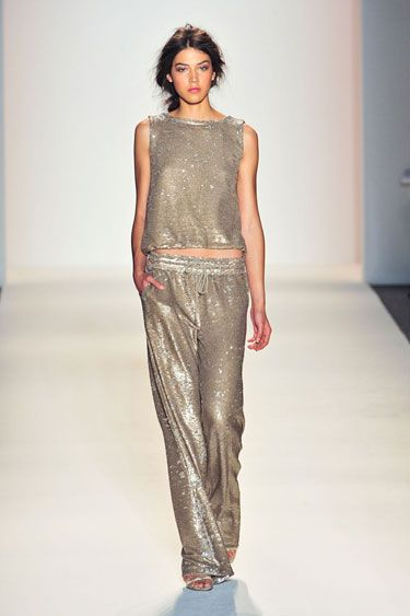 The New York Spring 2014 Trend Report: Smooth Operator - Metallics