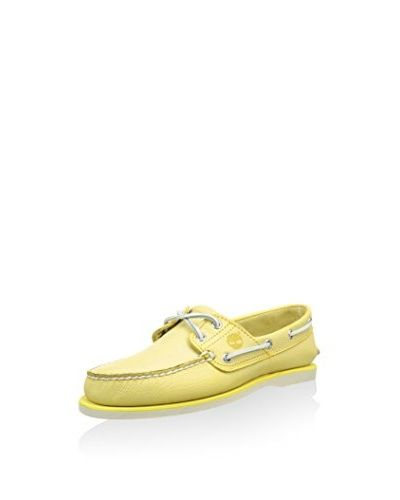 Timberland N谩uticos Classic Boat 2 Eye Maize