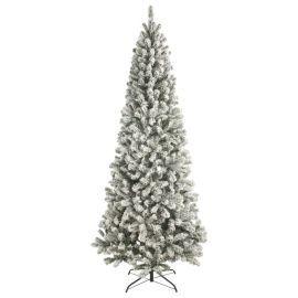 Buy 7ft Slim Christmas Tree, Flocked Emperor from our Christmas Trees range - Tesco