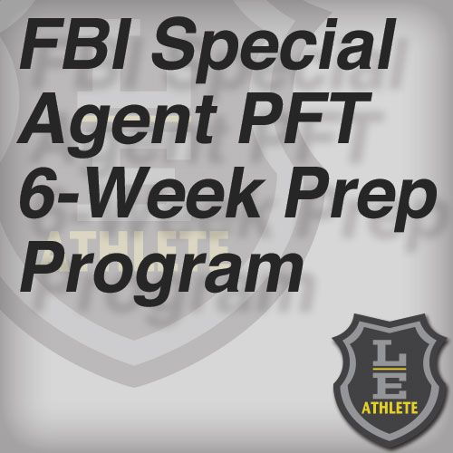 FBI Special Agent PFT 6-Week Prep Program 1