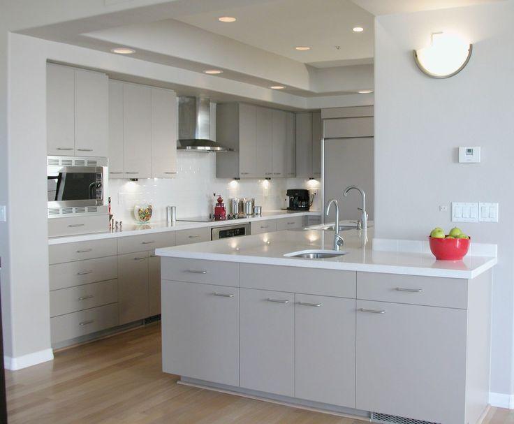 14 best Furniture images on Pinterest Gray kitchens, Grey kitchens - comment enlever du crepi sur un mur exterieur
