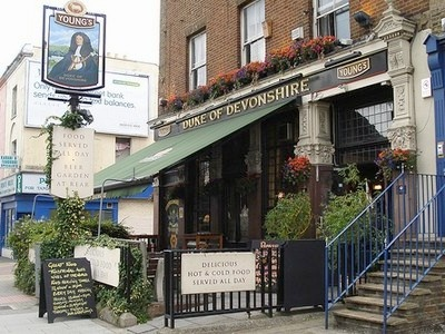 The Duke of Devonshire Pub, Balham  Great garden bar out the back for summer.    39 Balham High Road  London SW12 9AN  020 8673 1363