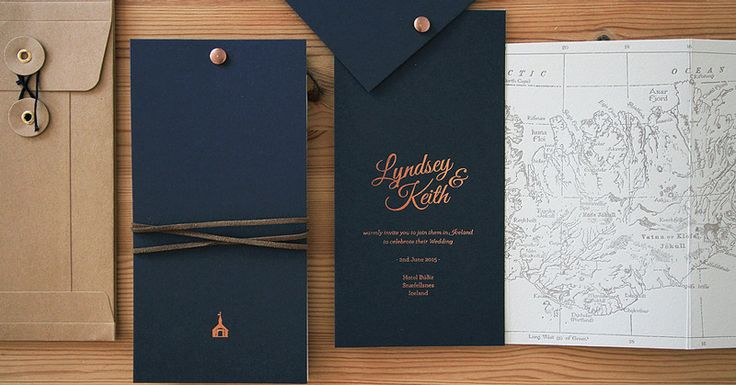 Modern Wedding Invitations Creative Design Ideas